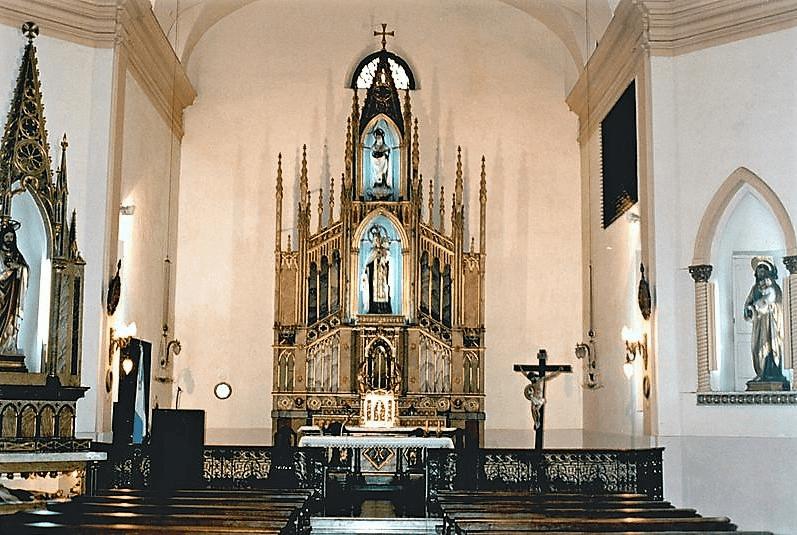 monoasteri santa teresa de jesus_-_Altar