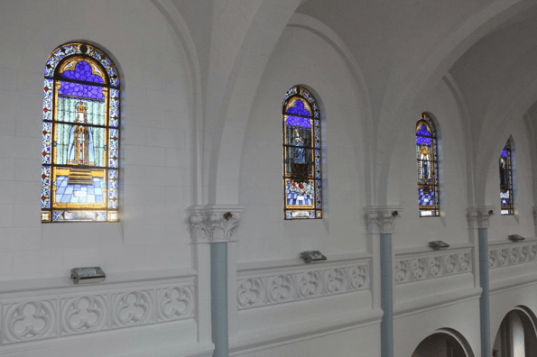 santa clara vitrales