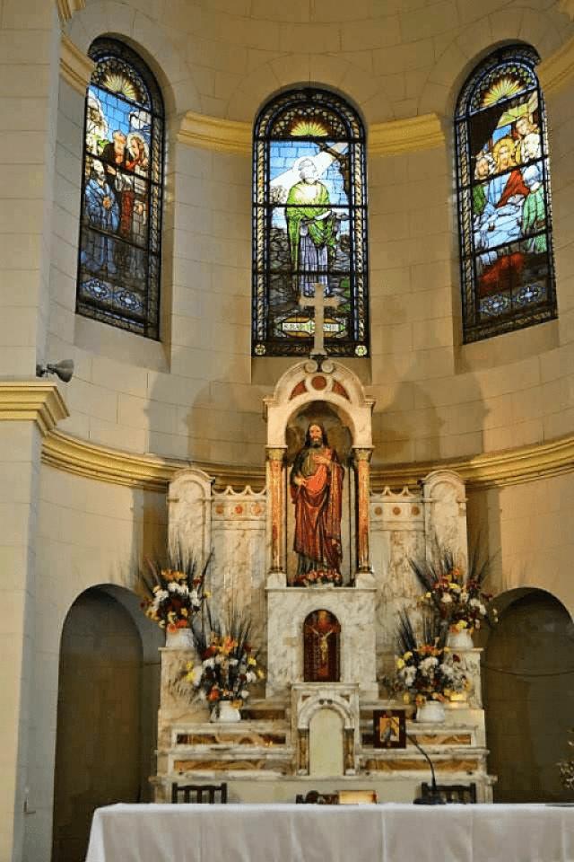 altar sagrado corazon san bartolome