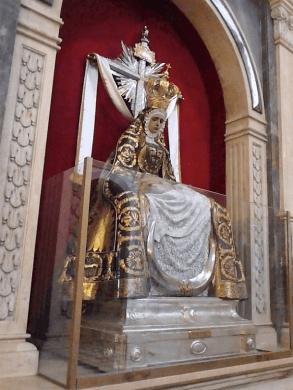 Virgen de las Angustias en Carmelo