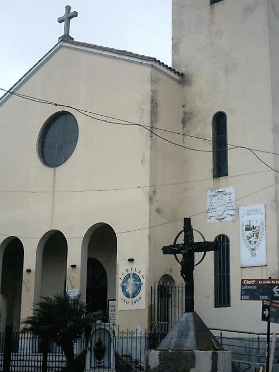 cruz inaugurada cristo obrero y san blas