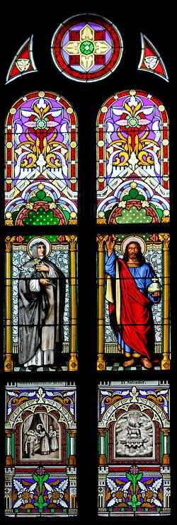 santa felicitas vitrales