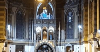 nave parroquia y Santuario nuyestra señora del rosario de nueva pompeya