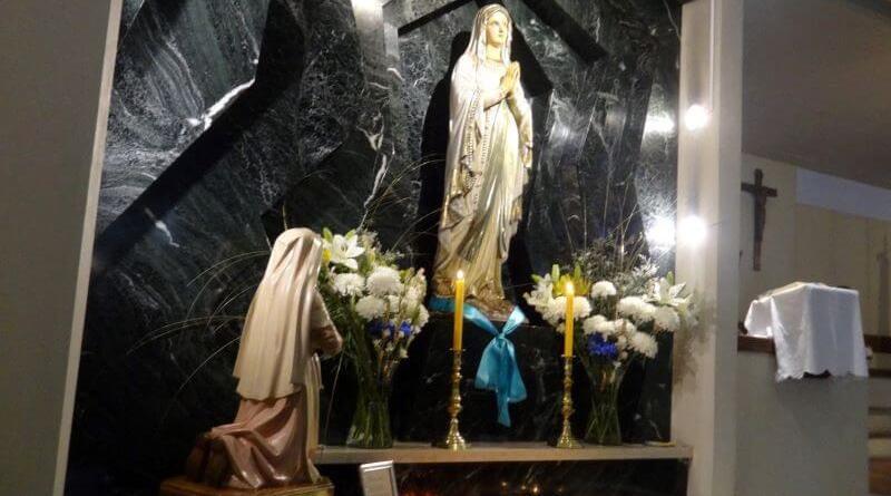 las parroquias de la virgen de lourdes