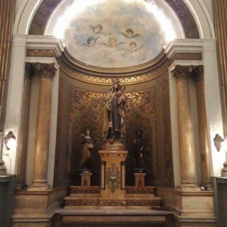 Altar Lateral de Nuestra Señora de la Merced Capilla Hospital Español