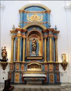 Retablo de San José en San Ignacio de Loyola