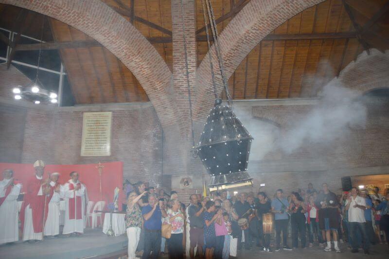 Santuario Santiago Apóstol en Villa Gesell