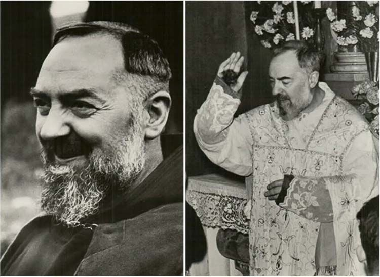 San Padre Pio nació Francesco Forgione el 25 de mayo de 1887, en una devota familia católica en Pietrelcina, Italia. A la edad de 15 años, se unió a los Frailes Capuchinos y finalmente se convirtió en sacerdote de la orden.