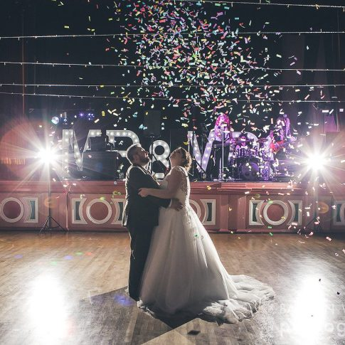 Saltaire Victoria Hall first dance wedding photograph