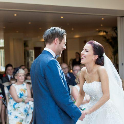 Mitton hall wedding ceremony