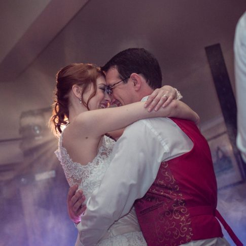 First dance Burnsall Red Lion wedding photographer