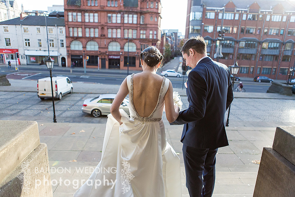 Exiting the registry office