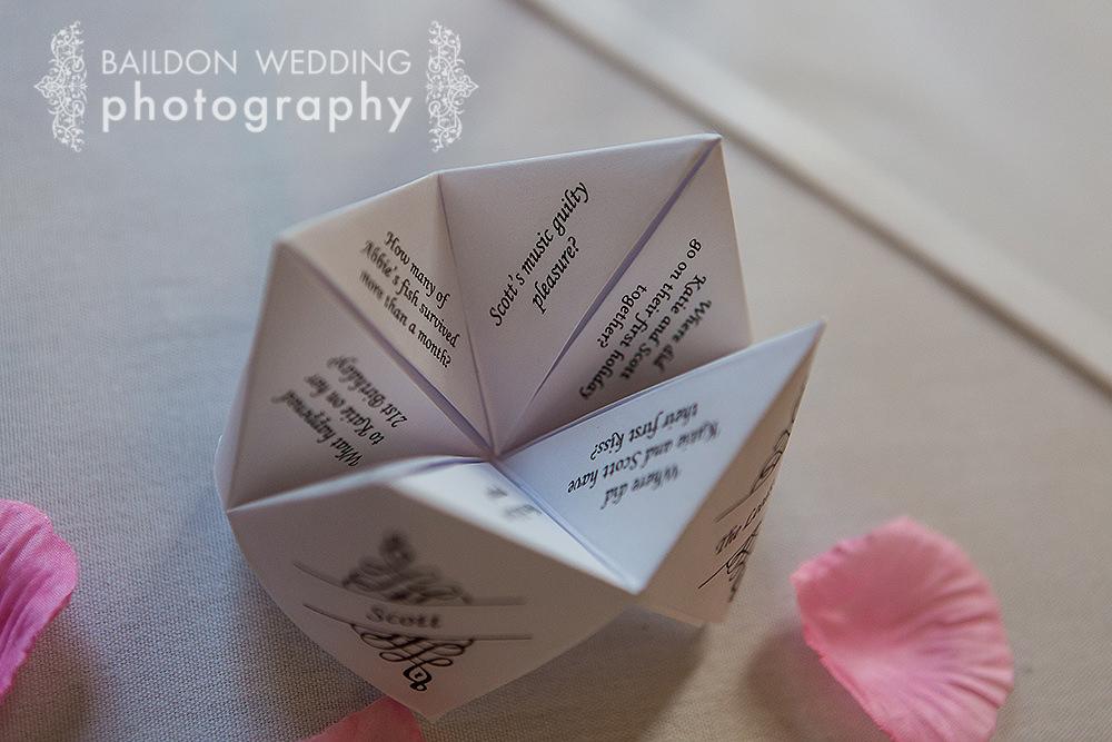 wedding favour