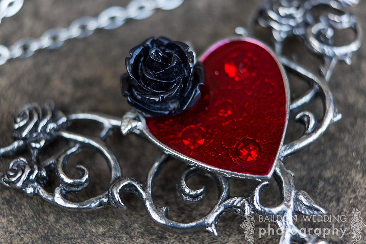 heart pendant necklace, jewellery