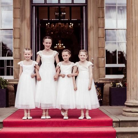 Oulton Hall wedding photographer bridesmaids Leeds