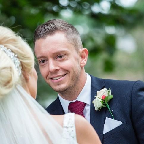 Woodlands groom Leeds wedding photography