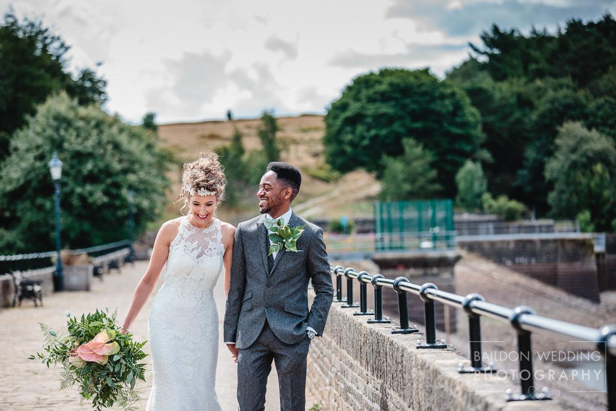 Wedding fresh newlyweds summer