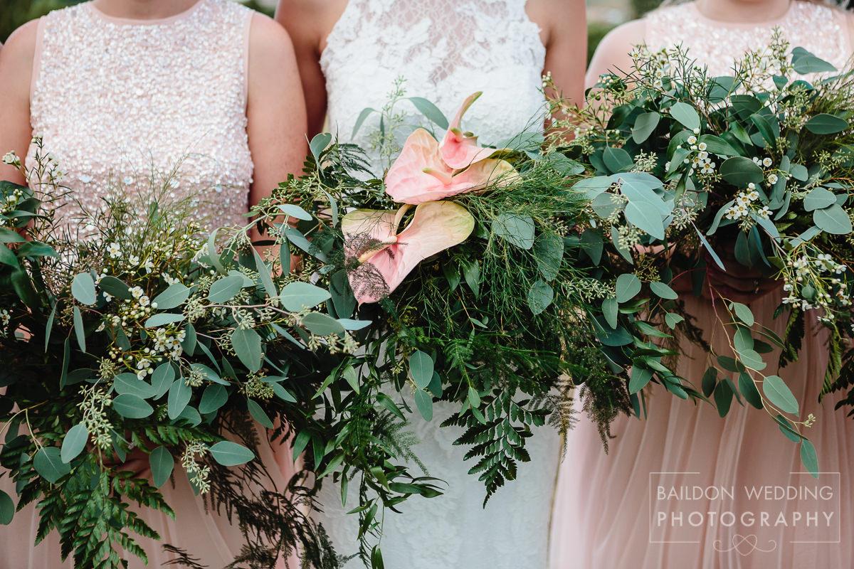 Bouquet green wedding