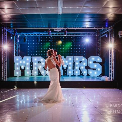 Newlyweds first dance at Halifax wedding