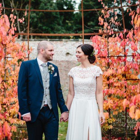 Fig House Middleton Lodge couple shot wedding day
