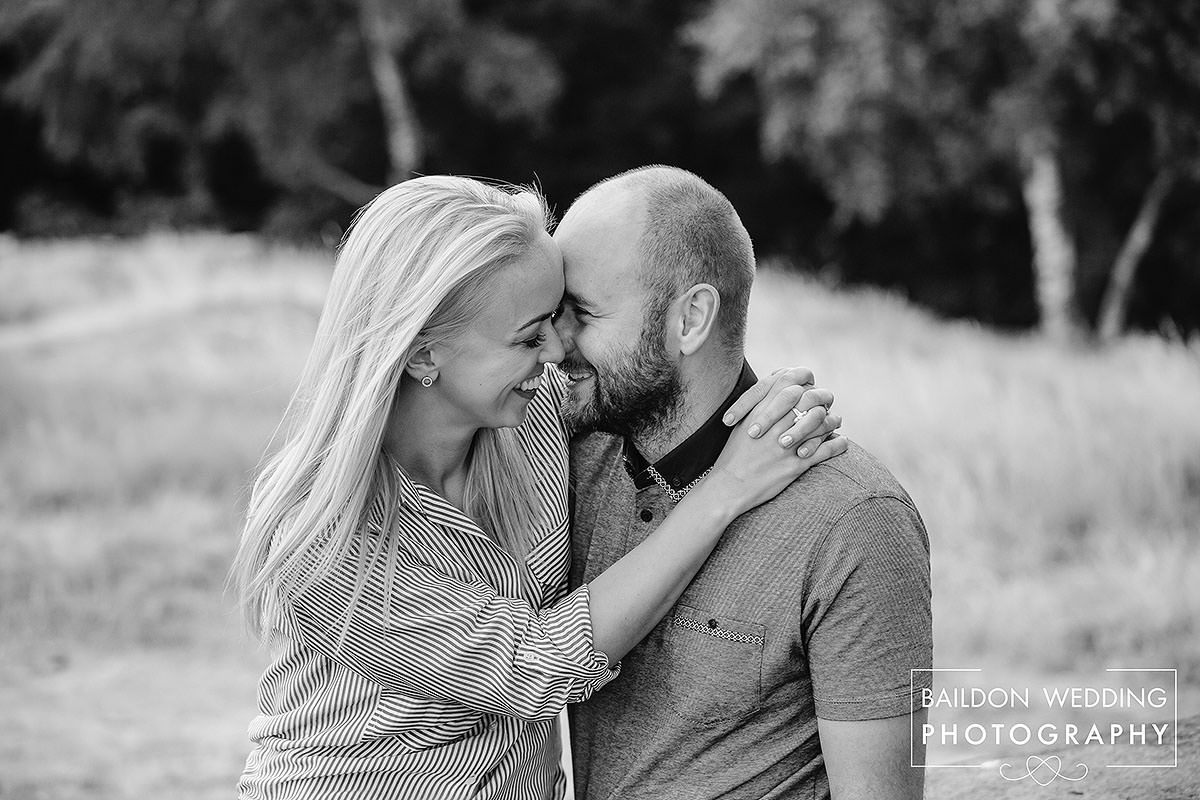 Newly engaged couple looking for a wedding photographer