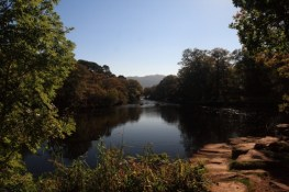 picture of meeting of the waters in Killarney National PArk
