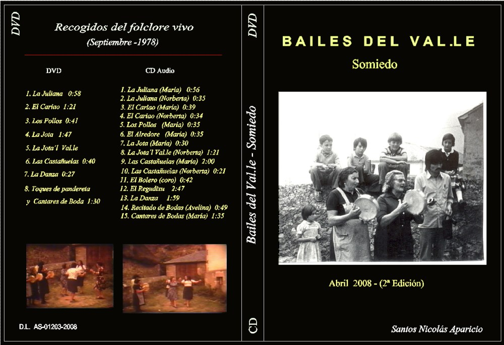 Los Bailes del Val.le (Somiedo) (2/2)