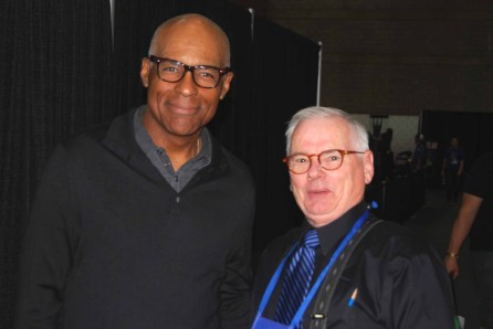 Michael Dorn (Worf, Star Trek TNG) meets with Robert.