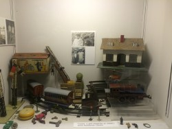 The toy section in the Ceredigion Museum, Aberystwyth