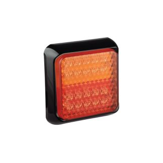 100mm Square Rear Combination Stop, Tail, Indicator Lamp