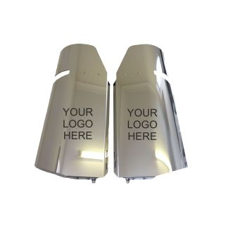 Engraved Scania 4/R Mirror Guards