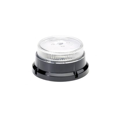 Clear Lens Amber LED Beacon
