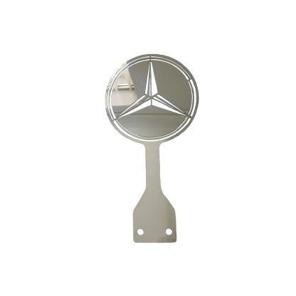 Mercedes Lollipop with Cutout