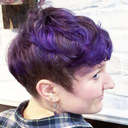 Purple Hair 2017