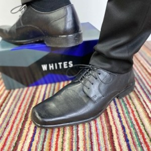 Whites Leather Shoes - Black