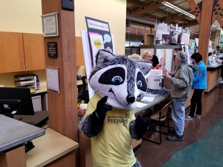Ready Raccoon at Three Days of Preparedness