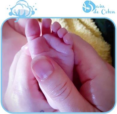Atelier massage bébé 1