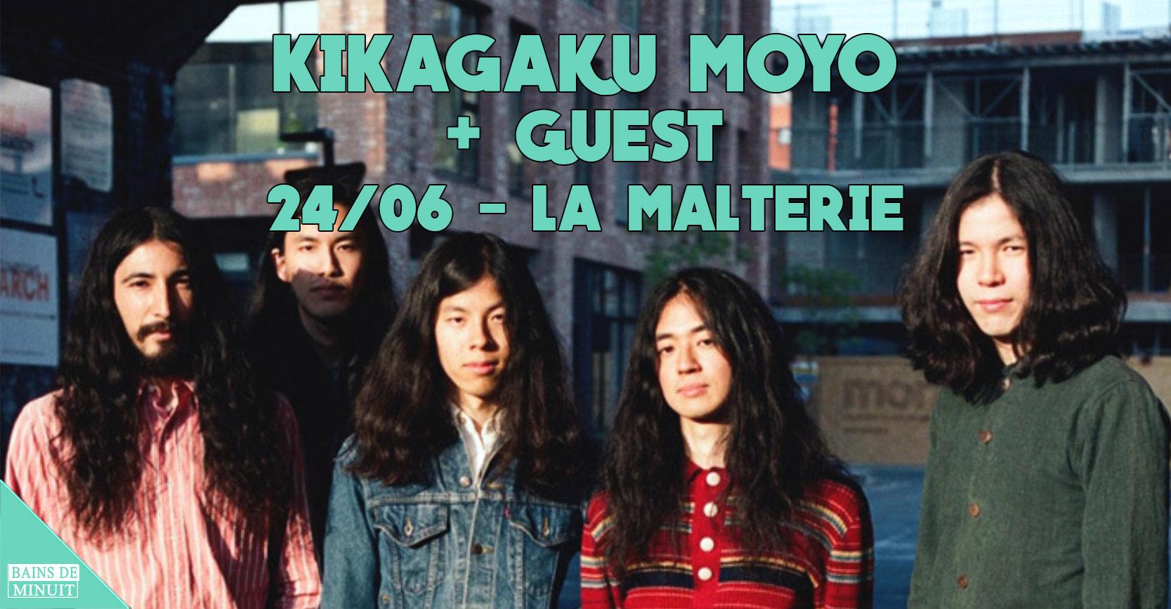 24/06 -KIKAGAKU (japan) + Guest / La Malterie, Lille