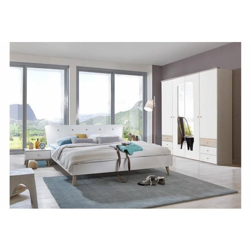 chambre a coucher adulte scandinave