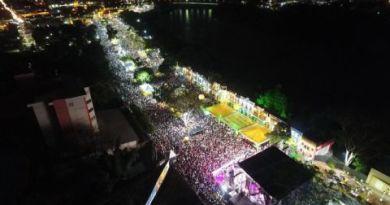 Prefeitura leva cerca de 80 mil pessoas à Orla do Porto para celebrar a chegada de 2018
