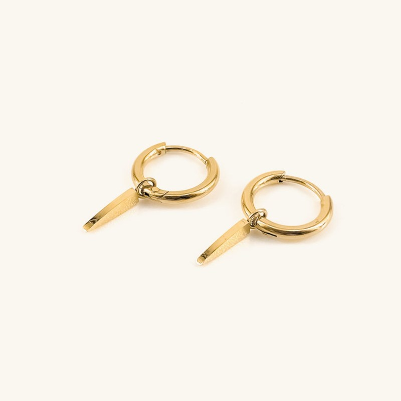 Gold plated earrings pendant jewelry