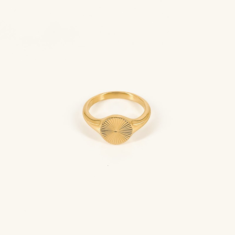 Lizzy ring gold plated waterproof jewelry