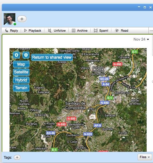 Gadget Mapa
