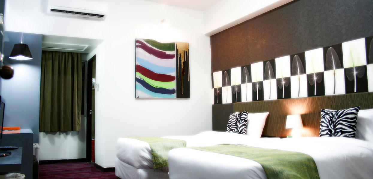 Boutique Suite Room Baiyoke Boutique Hotel Bangkok Thailand