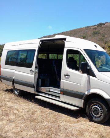 19 Passenger Van, Tijuana to Valle de Guadalupe