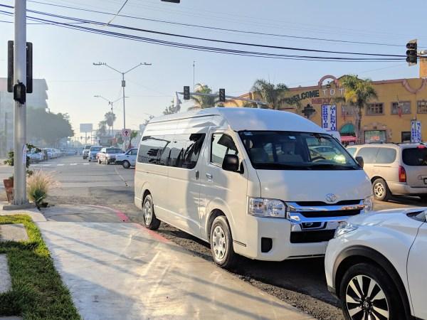 Tijuana Shuttle Van