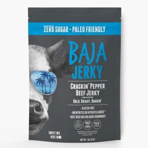 Crackin Pepper Jerky from Baja Jerky