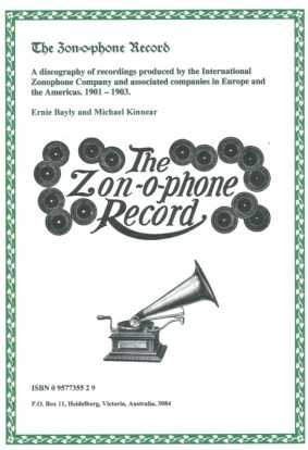 The Zonophone Record, Ernie Bayly and Michael Kinnear - Back