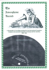 The Zon-o-phone Record - A Discography, 1901-1903