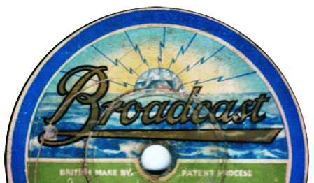 Broadcast Record Label, With Diamond